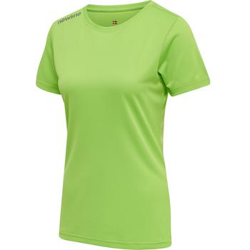 WOMEN CORE FUNCTIONAL T-SHIRT S/S, GREEN FLASH, packshot