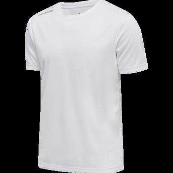 MEN CORE FUNCTIONAL T-SHIRT S/S, WHITE, packshot